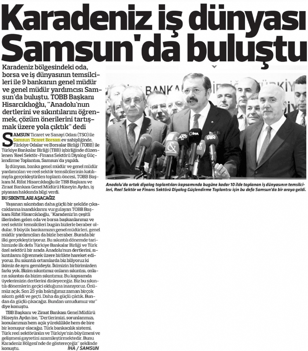 Karadeniz İş Dünyası Samsun'da Buluştu.