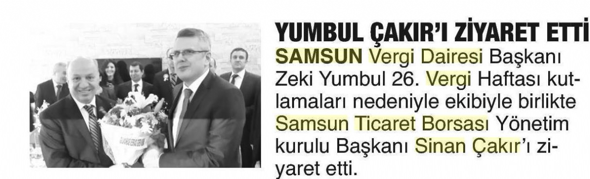 Yumbul Çakır'ı Ziyaret Etti