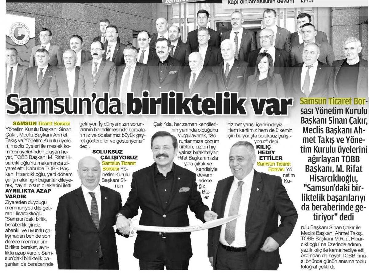 Samsun'da Birliktelik Var