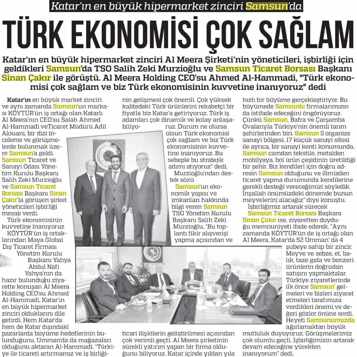 Türk Ekonomisi Çok Sağlam