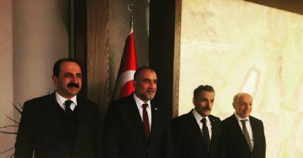 Samsun Ticaret Borsası 'ndan Başkan Sandıkçı 'ya Hayırlı Olsun Ziyareti...