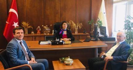 Toprak Mahsulleri Ofisine Ziyaret...