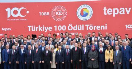 Cumhurbaşkanımız Sn. Recep Tayip Erdoğan ile Türkiye 100 Hatıra Fotoğrafı...