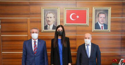 Çakır ve Murzioğlu Sayın Karaaslan 'ı Ziyaret Etti..