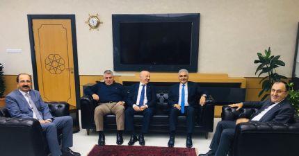 İl Emniyet Müdürü Sayın Dr. Ömer URHAL'ı Ziyaret Ettik...