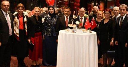 Başkan Çakır, 29 Ekim Cumhuriyet Bayramı Resepsiyonuna Katıldı.