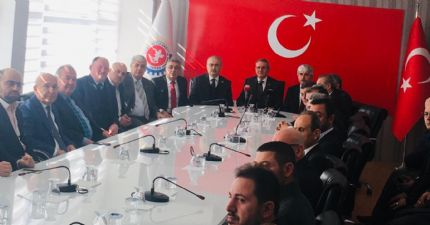 Samsun İli Oda Borsaları ve Sivil Toplum Örgütleri  Ortak Basın Açıklaması...