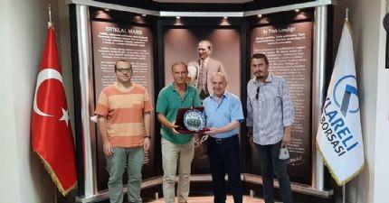 Başkan Çakır 'dan Kırklareli Ticaret Borsası'na Ziyaret…