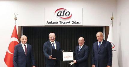 Başkan Çakır'dan Ankara Ticaret Odasına Ziyaret ...