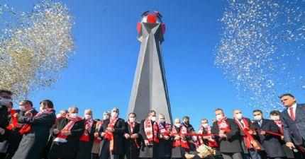 Samsunspor Futbol Şehitleri Anıtı Törenle Açıldı...