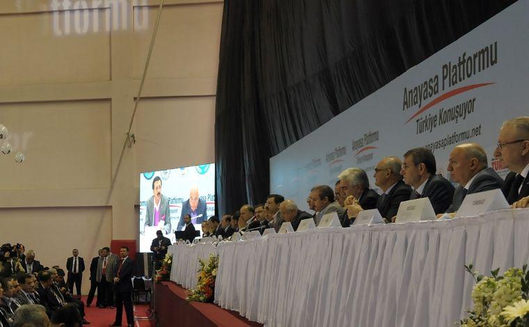 Yeni Anayasa İçin, Samsun'da 'gençler 'konuştu