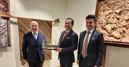 Endonezya Cumhuriyeti Büyükelçisi'ne Ziyaret...