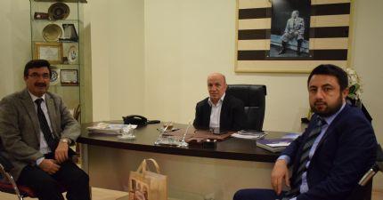 Çorum Ticaret Borsası Başkanı Sayın Ali Bektaş Borsamızı Ziyaret Etti...