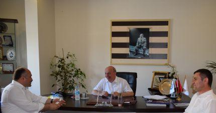Samsun Milletvekili Erhan USTA Borsamızı ziyaret etti...