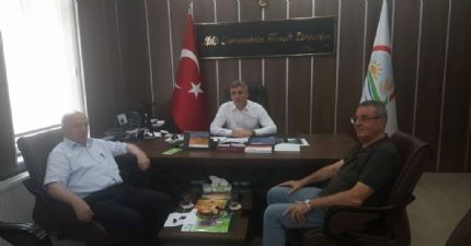 Samsun İl Tarım ve Orman Müdürü Nail Kırmacı Ziyareti