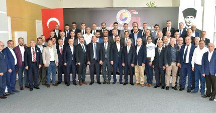Karadeniz Bölgesi Oda/borsa Başkanları Tobb'da Buluştu...