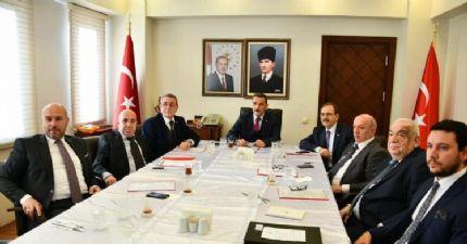 Samsun Lojistik Merkezi Yönetim Kurulu Toplantısı