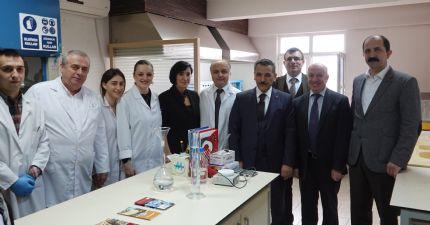 Samsun Valisi Sayın Osman Kaymak Borsamızı ziyaret etti...