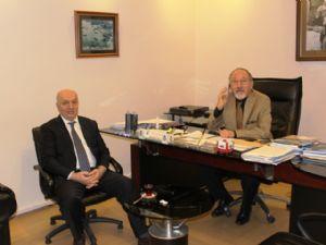Başkan Çakır, Sinop Ticaret ve Sanayi Odası ' Nı Ziyaret Etti....