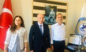 Samsun Ptt Merkez Müdürü Nurhan Önder'den Başkan Çakır'a Ziyaret…