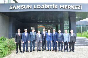TOBB Başkanı M. Rifat Hisarcıklıoğlu Lojistik Merkezi Ziyaret Etti…