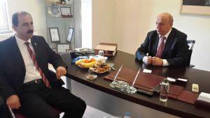 Ak Parti İl Başkanı Sayın Muharrem Göksel Borsamızı Ziyaret Etti