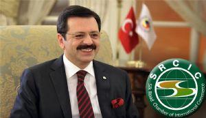 Hisarcıklıoğlu, Uluslararası İpek Yolu Ticaret Odası Onursal Başkanlığına Seçildi...