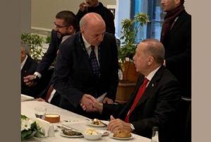 Başkan Çakır Cumhurbaşkanımız Sayın Recep Tayyip Erdoğan ile Görüştü.