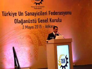 Un Sanayicileri Federasyonu'nun Yeni Başkanı, Başkan Yardımcımız Günhan Ulusoy Oldu...
