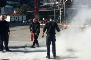 Personelimiz Yangın Eğitimi Aldı...