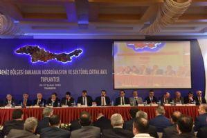 Karadeniz Bölgesi Gıda Tarım ve Hayvancılık Bakanlığı Koordinasyon ve Sektörel Ortak Akıl Toplantısı Yapıldı.