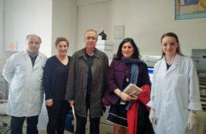 Laboratuvarımıza Ziyaret...
