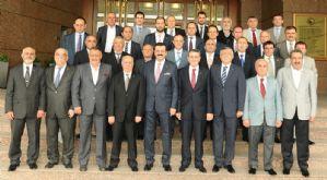 Borsamız ve Ticaret Sanayi Odamız Tobb Başkanı Sayın Hisarcıklıoğlu ' Nu Ziyaret Etti.