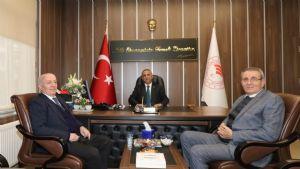 Başkan Çakır 'dan İl Tarım ve Orman Müdürüne Hayırlı Olsun Ziyareti