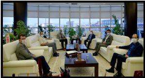 Borsa 'dan Ondokuz Mayıs Üniversitesi Rektörü Prof. Dr. Yavuz Ünal'a Hayırlı Olsun Ziyareti....