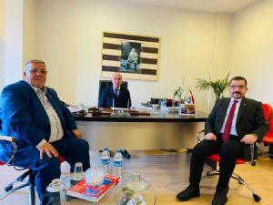 Çarşamba TSO Yönetim Kurulu Başkanı Ahmet YILMAZ ve Ak Parti Salıpazarı İlçe Başkanı İsmail YAMAN' dan Borsamıza Ziyaret ...