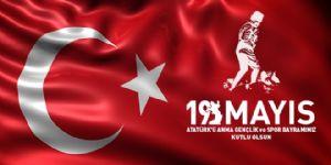 19 Mayıs Atatürk'ü Anma Gençlik ve Spor Bayramı'nın 98'inci Yılını Kutluyoruz...