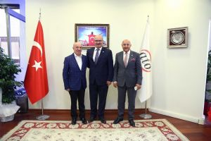 Borsadan Ankara Ticaret Odasına Ziyaret...