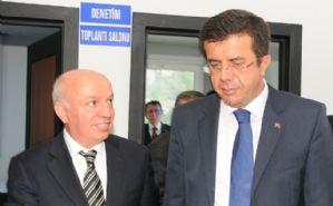 Ekonomi Bakanımız Nihat Zeybekçi Misafirimizdi....