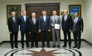Borsadan Tarım ve Orman Bakanı Dr. Bekir Pakdemirli'ye Ziyaret...