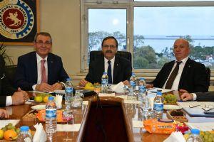Samsun Lojistik Merkezi Yönetim Kurulu Toplantısı Gerçekleşti