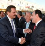 TOBB Başkanı Sayın M. Rifat Hisarcıklıoğlu Borsamızı ziyaret ettiler.