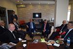 Ondokuz Mayıs Üniversitesi Rektörü Prof. Dr. Sait Bilgiç  ve Rektör Yardımcısı Prof. Dr. Mehmet Kuran Borsamızı Ziyaret Etti...