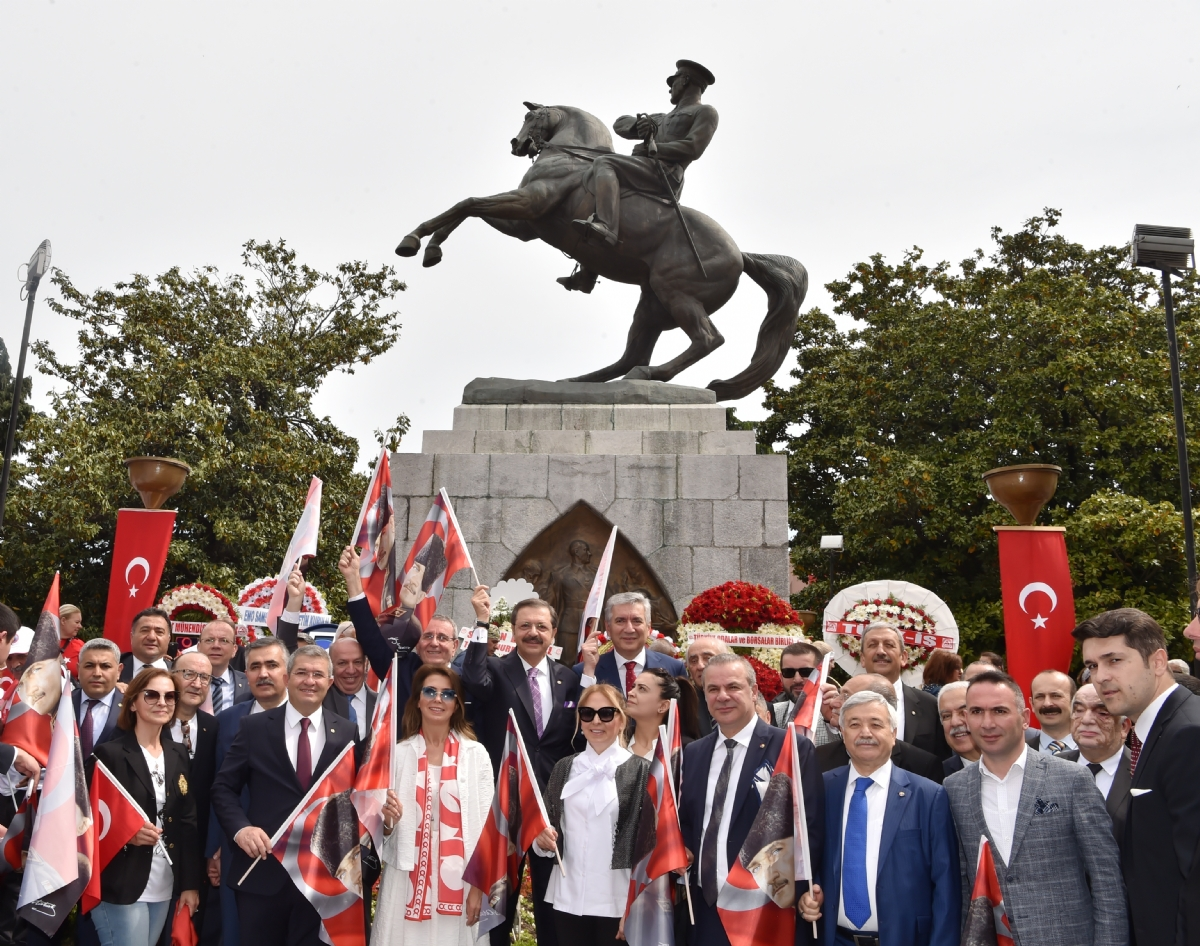 Atatürk Anıtı'na Ziyaret...