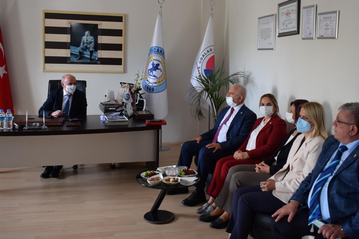 CHP Heyeti Borsamızı Ziyaret Etti..