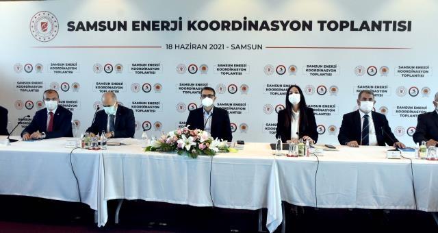 Samsun Enerji Koordinasyon Toplantısı Gerçekleşti ...