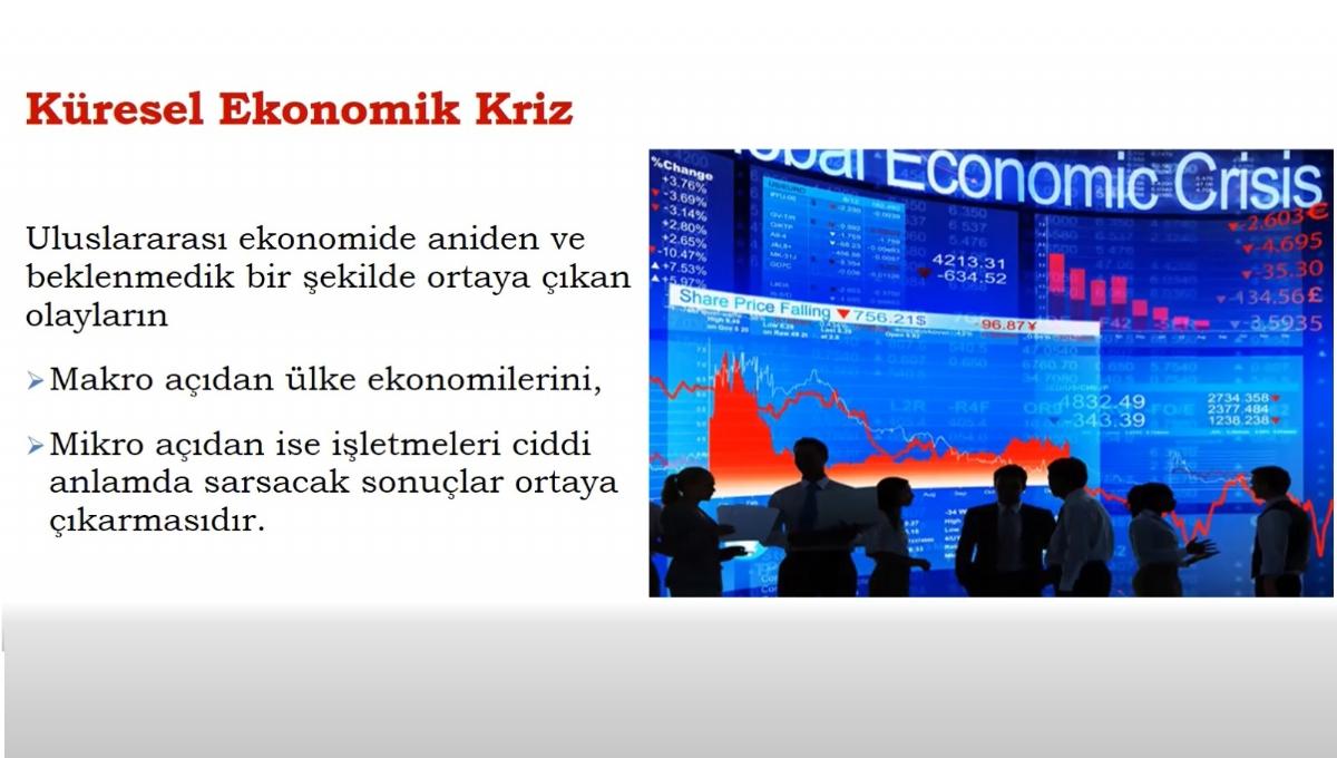 Küresel Krizlerle Mücadelede Firmalar İçin Stratejiler Webinarı Gercekleştirildi...