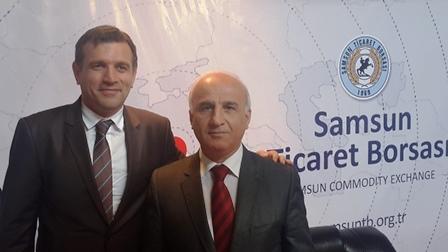 Borsamızın ve Samsun Tso 'nun Katkılarıyla Organize Edilen Samsun Günleri, Ankara Akm 'de Gerçekleştirildi.