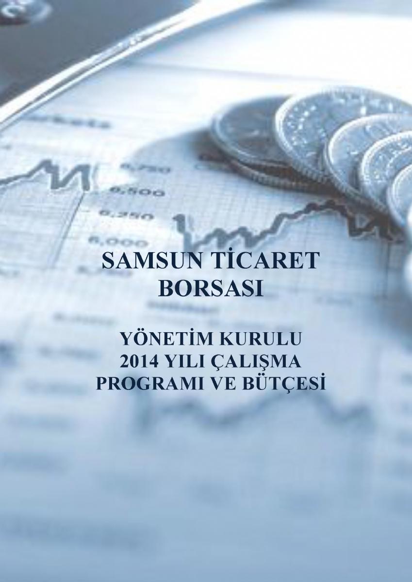 2014 Yılı Yönetim Kurulu Çalışma Programı ve Bütçesi
