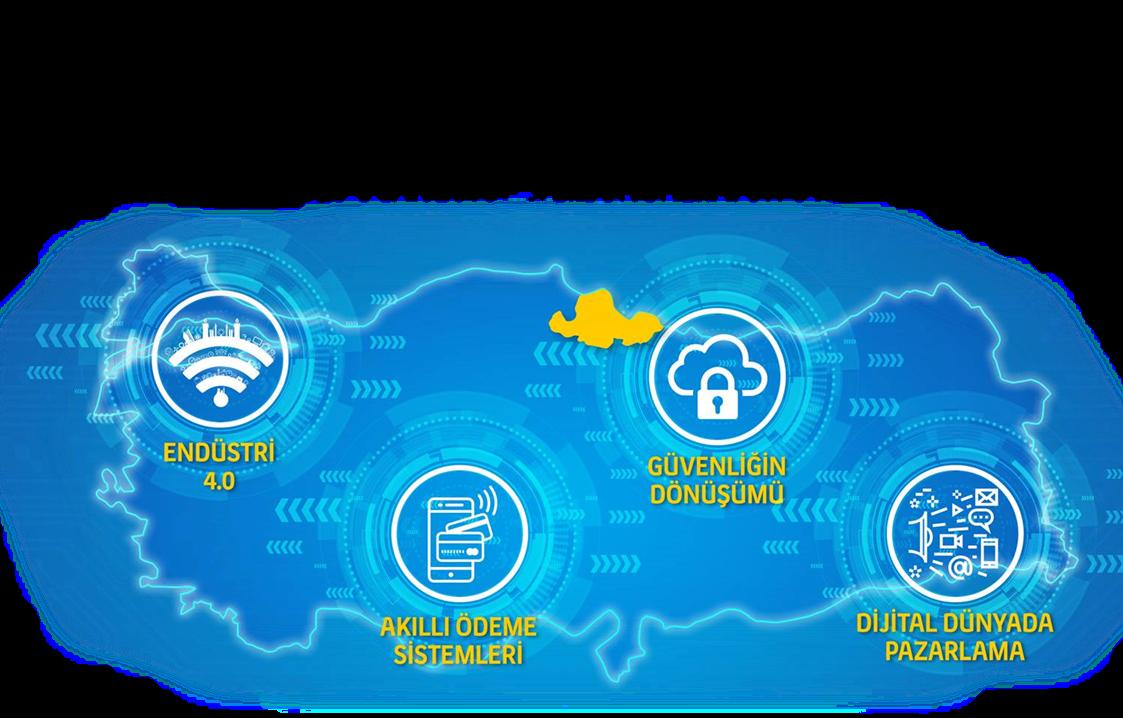 Türkiye Teknolojik Buluşmaları Samsun'da